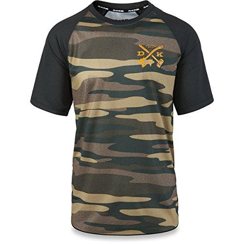 Dakine Dropout Jersey - Short Sleeve - Men's Field Camo, L Trail Short Sleeve Jersey