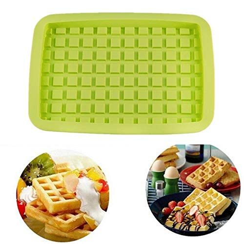 New Chocolate Waffles Mold Silicone Cake Cookie Pan Baking Mould Tools DIY Hot