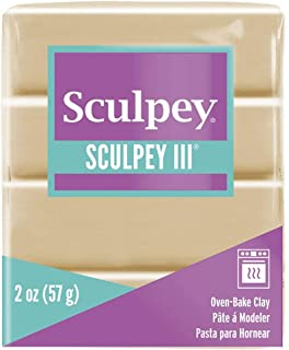 product image for Polyform Sculpey III Polymer Clay, 2-Ounce, Tan