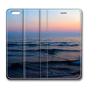 Beach Nature 10 iPhone 6 Plus 5.5inch Leather Case, Personalized Protective Slim Fit Skin Cover For Iphone 6 Plus [Stand Feature] Flip Case Cover for New iPhone 6 Plus