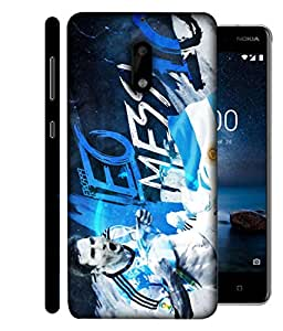 ColorKing Football Messi Argentina 10 Multi Color shell case cover for Nokia 9