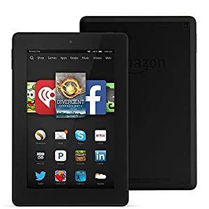"Fire HD 7 Tablet, 7"" HD Display, Wi-Fi, 8 GB - Includes Special Offers, Black"
