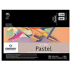 Mi-Teintes Pastel Pad 12X16 Assorted Colors