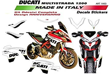 Stickers For Ducati Multistrada 1200 Dvt Design 90