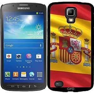 Funda para Samsung Galaxy S4 Active i9295 - Bandera De España by Carsten Reisinger
