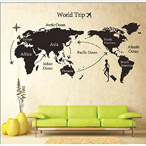 Homk101 Amovible Papier Pour Décor Vinyle Stickers Muraux ...