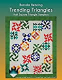 img - for Trending Triangles: Half Square Triangle Samplers book / textbook / text book