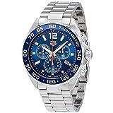 TAG Heuer Men's Formula 1 43mm Steel Bracelet & Case Quartz Blue Dial Analog Watch CAZ1014.BA0842