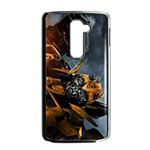 Personalized Bumblebee Transformers Custom Black Phone Case For LG G2