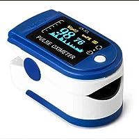 Colorjoy Monitor portátil de saturación de Pulso de Dedo yema del Dedo Oxímetro de Pulso Pantalla SpO2 PI Oxímetro Monitor de saturación de oxígeno en Sangre (batería excluida)