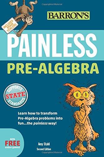 Painless Pre-Algebra (Painless Series)
