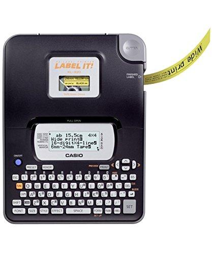 Casio KL-820 Label Printer (Black)
