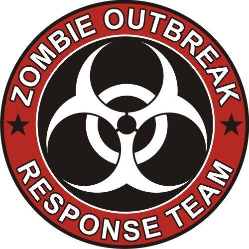 Zombie Outbreak Response Team Cool Vinyl Decal Bumper Sticker (Decal Kingz) 5