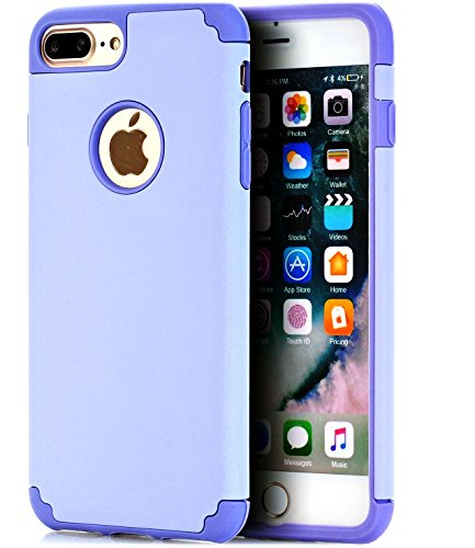 iPhone 7 Plus Case,iPhone 8 Plus Case,CaseHQ Extreme Heavy Duty Protective soft rubber TPU PC Bumper Case Anti-Scratch Shockproof Rugged Protection Cover for apple iPhone 7/8 Plus phone - Clear Bag Gucci