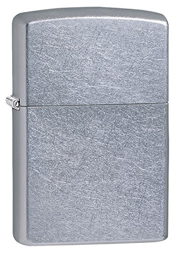 (Zippo Street Chrome Pocket Lighter)