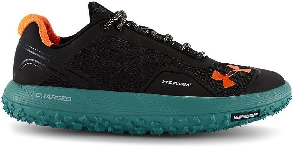 Under Armour menï & # X178; s UA Fat Tire Low Trail Running Shoes Black (004), Hombre, Noir - Noir: Amazon.es: Deportes y aire libre