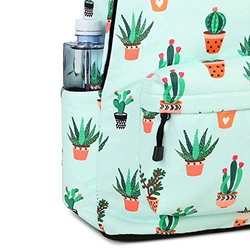 Teenage Girls Cactus Backpack Backpackleisure Women School Purse Print Backpack For ZHANGQIAN Evtwx8dqE