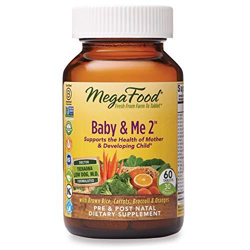 MegaFood Baby & Me 2 Prenatal and Postnatal Vitamin