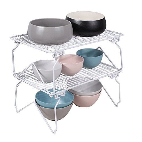2 Tier Storage Racks for Kitchen and Bathroom, Dish Drainer