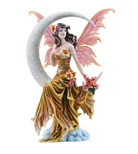 Pacific Giftware Four Elements Celestial Moon Fairy Figurine Earth Wind Frost Fire Collectible Figurine Nene Thomas Art Inspiration Official Licensed Collectible 12 Inch Tall (Earth)