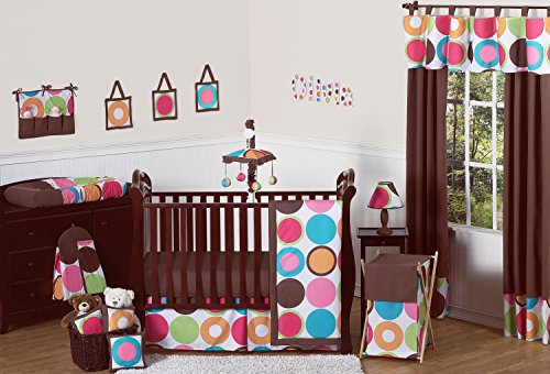 Pink turquoise crib bedding compare prices at nextag - Deco babybed ...