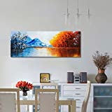 Large Handmade Landscape Oil Painting on Canvas