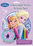 Disney Frozen Colouring and Sticker Activity Pack: Over 30 Stickers; Colouring Fun with Elsa and Anna & Friends!