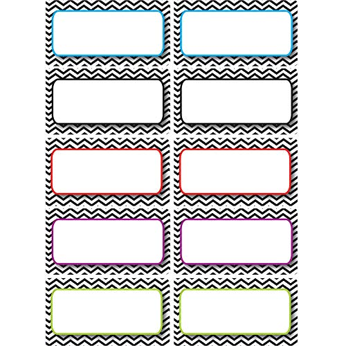 Ashley Productions Die-Cut Magnets Chevron Nameplates (Erase Dry Nameplate)