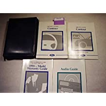 1998 Ford Contour Owners Manual