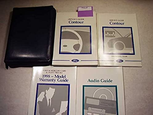 1998 ford contour owners manual ford amazon com books rh amazon com 1998 Ford Contour Throttle Body 1998 ford contour service manual
