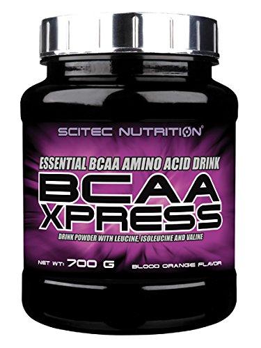 Scitec Nutrition BCAA Xpressのアミノ酸の粉 - 700g、ブラッドオレンジ   B01HBSYMSY