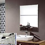 DECORAPORT 24 Inch * 32 Inch Frameless Wall-mounted Bathroom Silvered Mirror Rectangle Vertical Horizontal Vanity Mirror (B-B106)