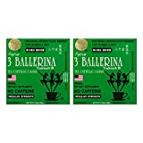 Diet Tea for Men and Women 30 Tea Bags, Three Ballerina (Pack of 2)