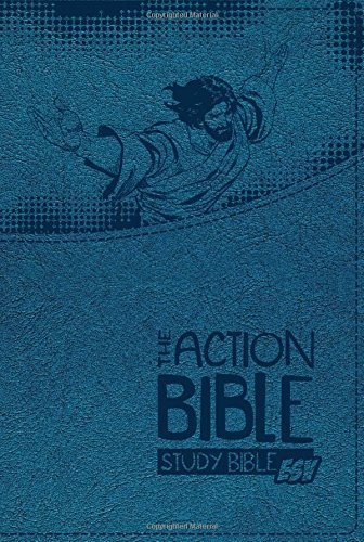 The Action Bible Study Bible ESV (Blue) by David C Cook (2015-09-01)