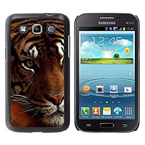 Design for Girls Plastic Cover Case FOR Samsung Galaxy Win I8550 Tired Sleepy Big Cat Orange Fur Tiger OBBA