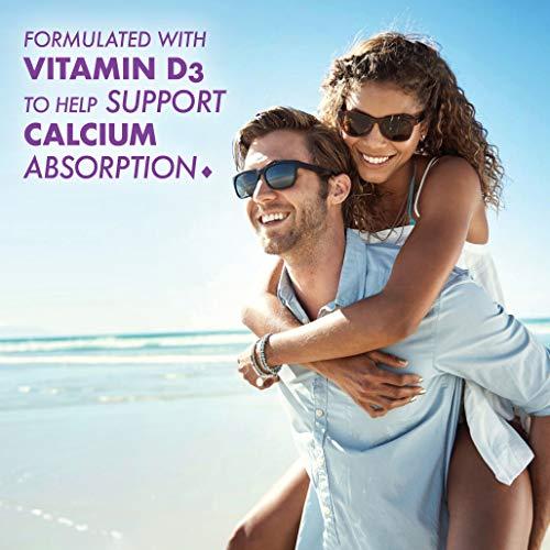 Bluebonnet Nutrition Milk-Free Calcium 1,200 mg Plus Vitamin D3 400 IU - High Potency, Maximum Absorption Strong Healthy Bones & Immune Health Support Supplement, Gluten-Free, Dairy-Free, 120 Softgels
