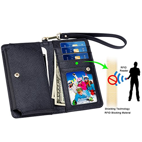 SHANSHUI PU Leather Wallet Case with Photo window, Card Slots, Note Holder, Coin Pocket and Hand Strap for Apple iPhone,Sumsung Galaxy,HTC,LG,Motorola,Lenovo,Huawei,Microsoft,Nokia,Sony Ericsson,ZTE