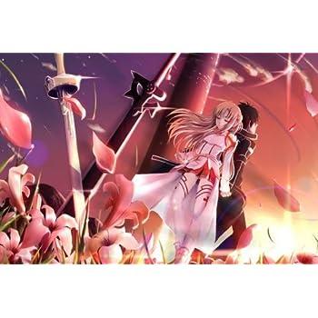Sword Art Online SAO ALO Japan Anime Nice Silk Fabric Cloth Wall Poster Print 20x13inch