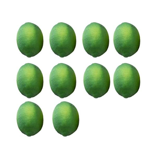 Buytra-10-Pack-Artificial-Fake-Lemons-Limes-Fruit-for-Vase-Filler-Home-Kitchen-Party-Decoration