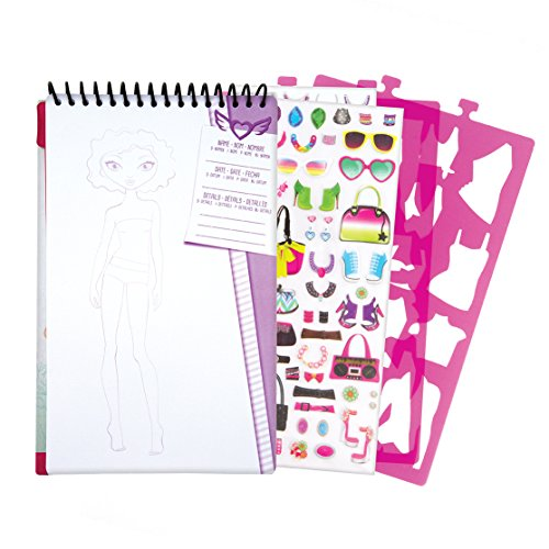 Fashion Angels Design Compact Sketch Portfolio Set Drawing kit, (Fashion Angels Design)