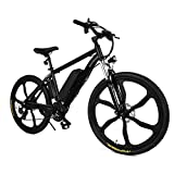 Ferty NEW IN 2018 Fast Electric Mountain Bicycle for Adults with Removable Lithium-ion Battery Integrated Mens Electric Bike [US STOCK] (Warrior)
