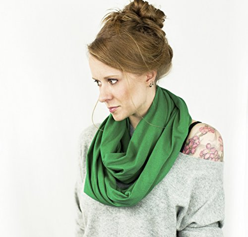 Jersey Infinity Scarf (Kelly Green)