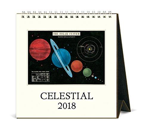 Cavallini Papers & Co. 2018 Celestial Desk Calendar ()