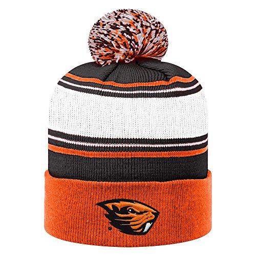 (Top of the World NCAA Oregon State Beavers Men's Elite Fan Shop Winter Knit Ambient Warm Hat,)