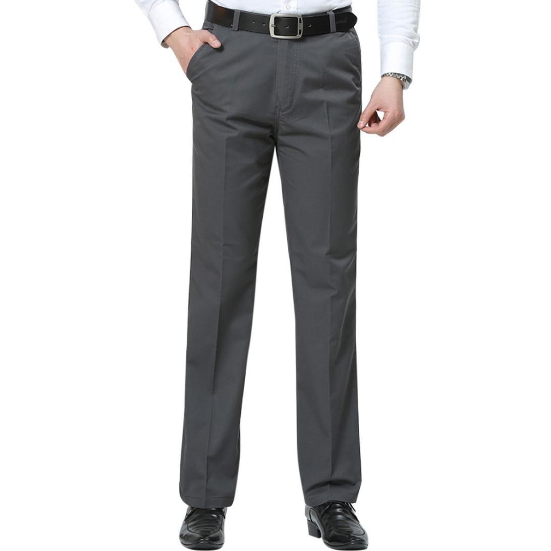 HERREN FREIZEIT CHINOHOSE OL Formal Business Chinos Hosen