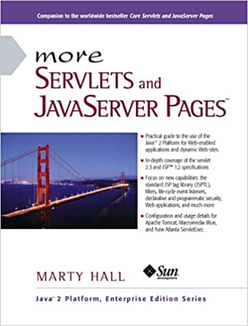 Amazon Fr More Servlets And Javaserver Pages Jsp Marty