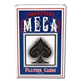 Midway Monsters Jumbo Over-Size Playing Cards, 4.5-Inchx7-Inch