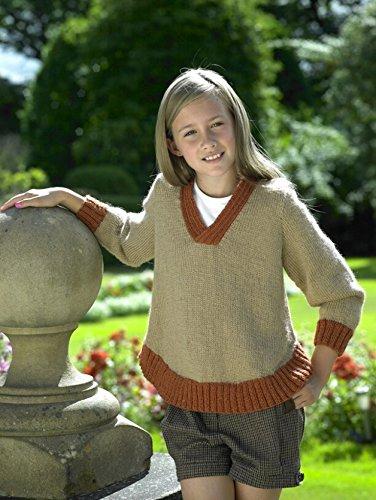 - Stylecraft Childrens Sweater Alpaca Knitting Pattern 8724 DK