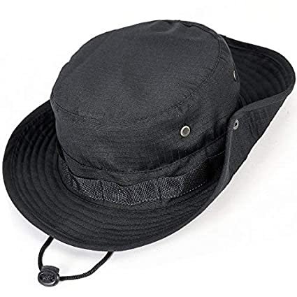 97d523a7024 Amazon.com  kolumb Unisex Military Boonie Hat- Premium Soft Cotton ...