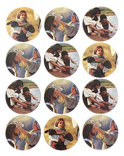 Jesus Christ Stickers - Love The Children - 72 Count - Acid Free - 1